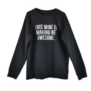 Brunette The Label Graphic Print Sweatshirt